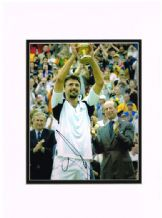 Goran Ivanisevic Autograph Signed Photo